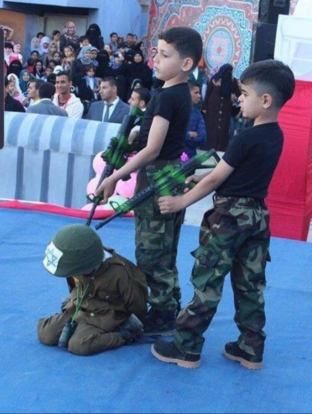 תמונה של סיום קייטנה של חמאס | חמ״ל